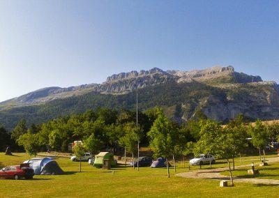 Camping Borda Bisaltico, Valle de Hecho - Pirineos