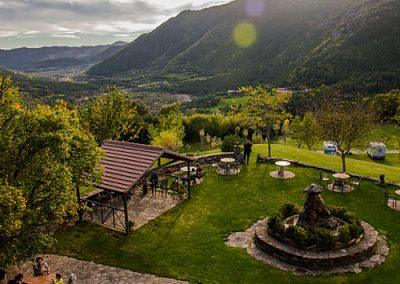 Borda Bisaltico en el Valle de Hecho, restaurante y alojamiento rural