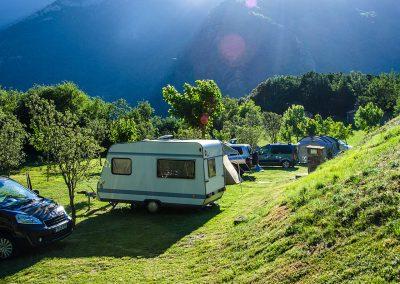 Camping Borda Bisaltico en Valle de Hecho