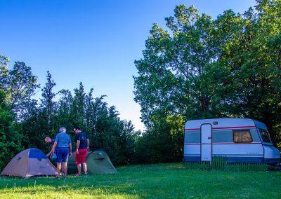 Camping Familiar Borda Bisaltico en Valle de Hecho