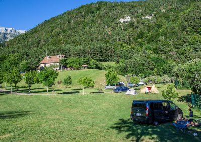 Camping Familiar en el Pirineo Aragonés. Borda Bisaltico