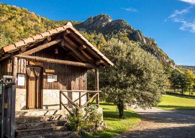 Recepción del Camping Borda Bisaltico, Valle de Hecho - Pirineos