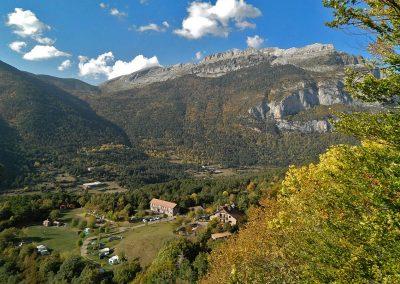 Borda Bisaltico (Valle de Hecho) en otoño