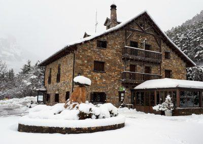 La Borda Bisalticl en invierno