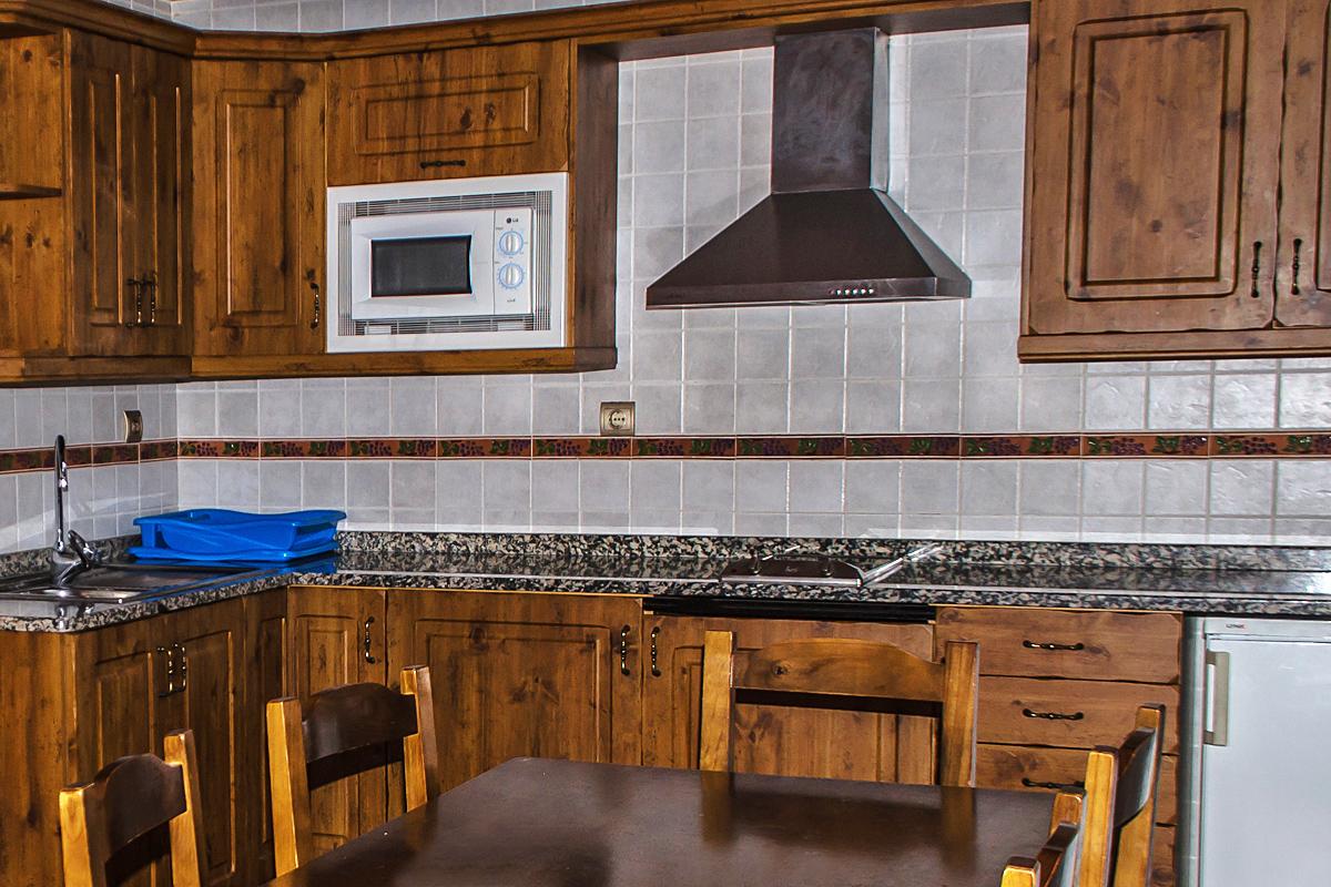 Alojamientos con cocina: habitaciones y apartamentos en Borda Bisaltico