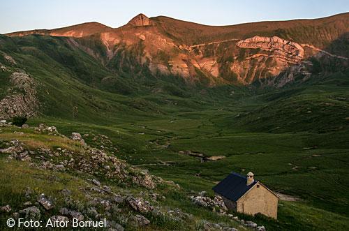 Camino al Bisaurín. Foto: Aitor Borruel