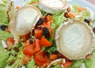 Borda Bisaltico: Ensalada