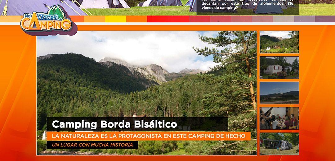 Este martes, «Borda Bisaltico» en «Nos vamos de camping» de Aragon TV