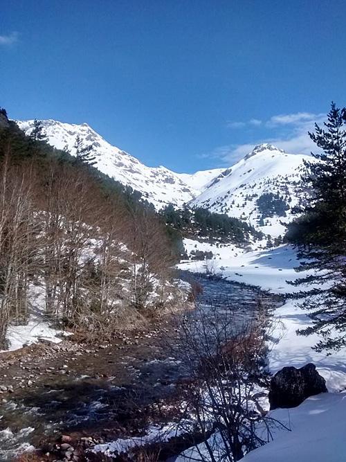 Invierno en el Valle de Hecho