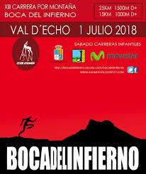 Boca del Infierno 2018, este año el 1 de julio