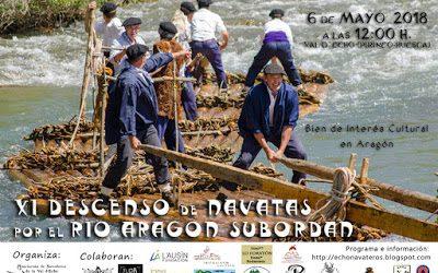 XI Descenso de Navatas por el río Aragón Subordán. 6 mayo 2018