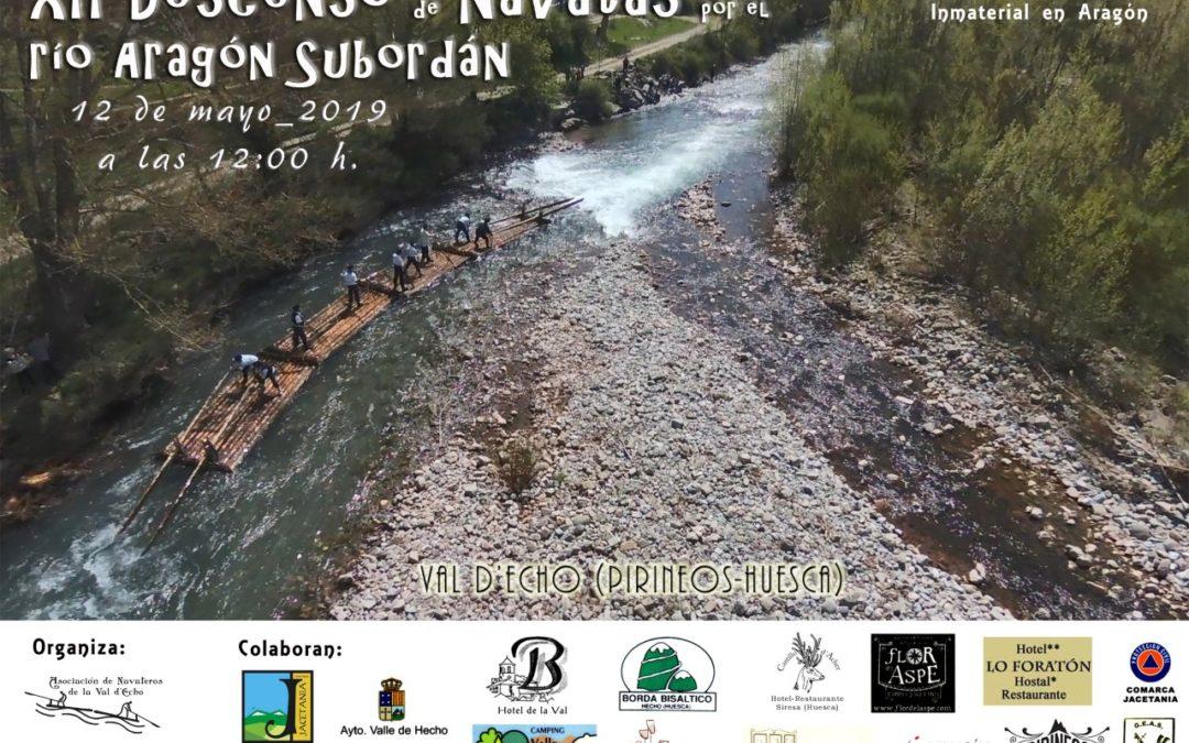 XII Descenso de Navatas por el río Aragón Subordán. 12 mayo 2019