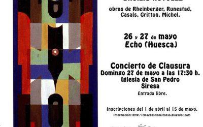 """IV Taller de Música Coral """"Subordania"""" 26 – 27 de mayo"""
