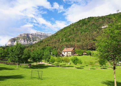 Vistas a Agüerri. Valle de Hecho. Pirineos Occidentales