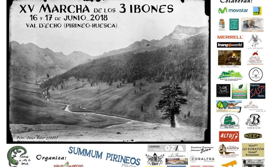 Marcha 3 Ibones 2018, 16 y 17 de junio. Valle de Hecho