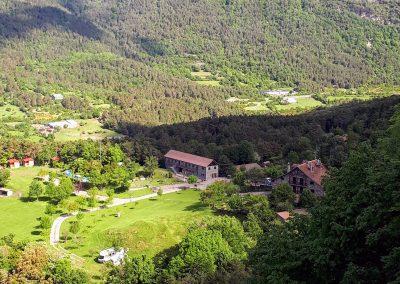 Borda Bisaltico. Camping en el Valle de Hecho. Pirineos