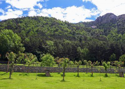 Parcelas camping Borda Bisaltico. Valle de Hecho