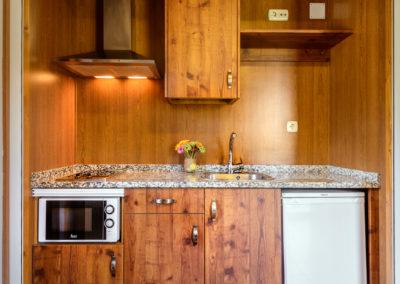 Cocinas en apart-albergue
