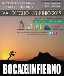 """XIV Carrera por montaña """"Boca del Infierno"""". 30 junio 2019"""