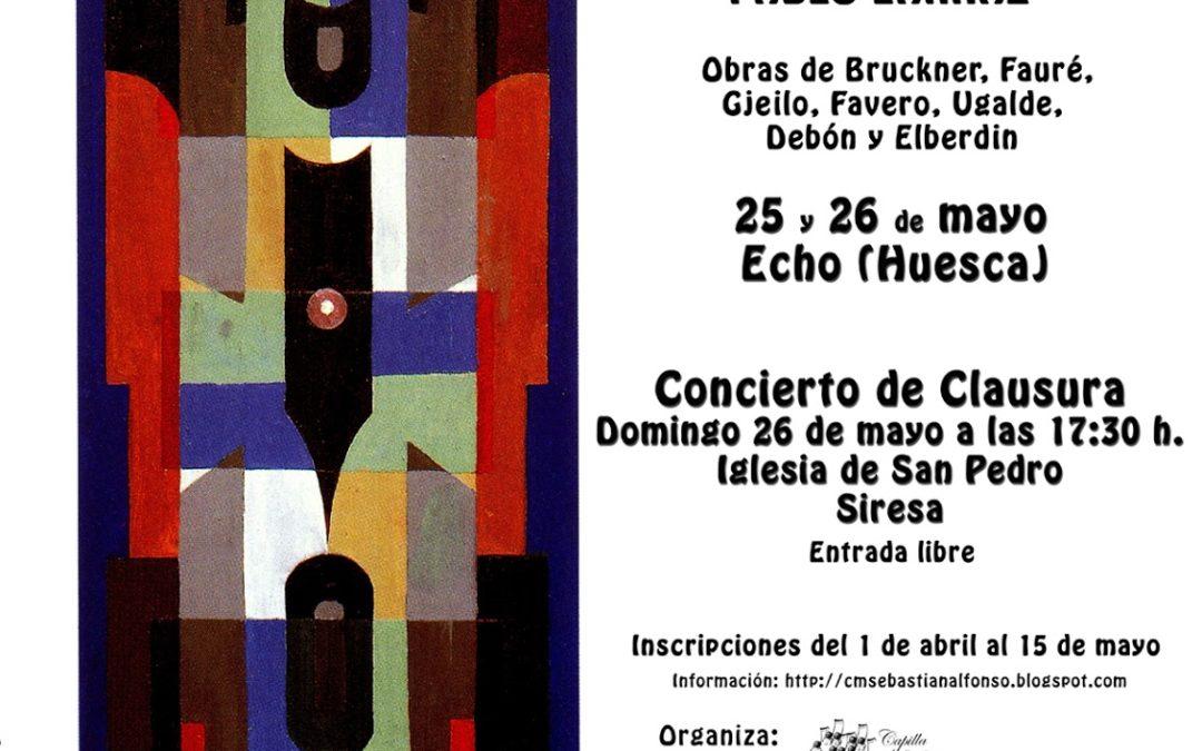 V Taller de Música Coral «Subordania». 25 y 26 de mayo 2019
