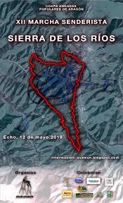 XII Marcha Senderista «Sierra de los Rios». 12 de mayo 2019
