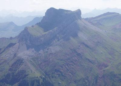 Vista aérea Castillo de Acher