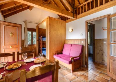 Apartamentos en Camping familiar Borda Bisaltico. Pirineo Aragonés . Valle de Hecho