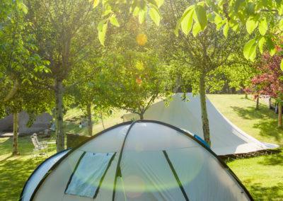 Camping Familiar Borda Bisaltico. Valle de Hecho. Pirineo Aragonés mejores atardeceres. Valle de Hecho