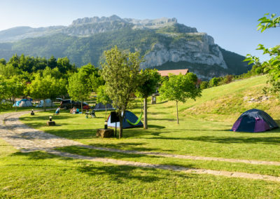 Peñaforca desde camping Borda Bisaltico