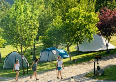 Camping  con encanto en Pirineo Aragonés