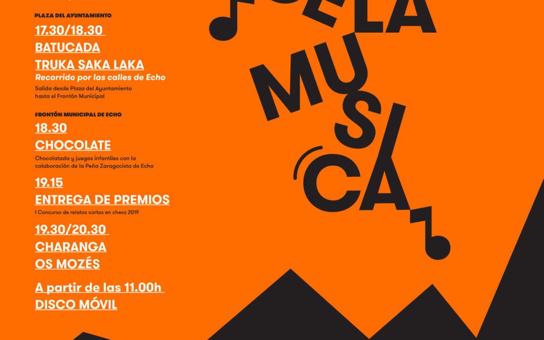 LO DIA DE LA MUSICA . ECHO 7 DICIEMBRE 19