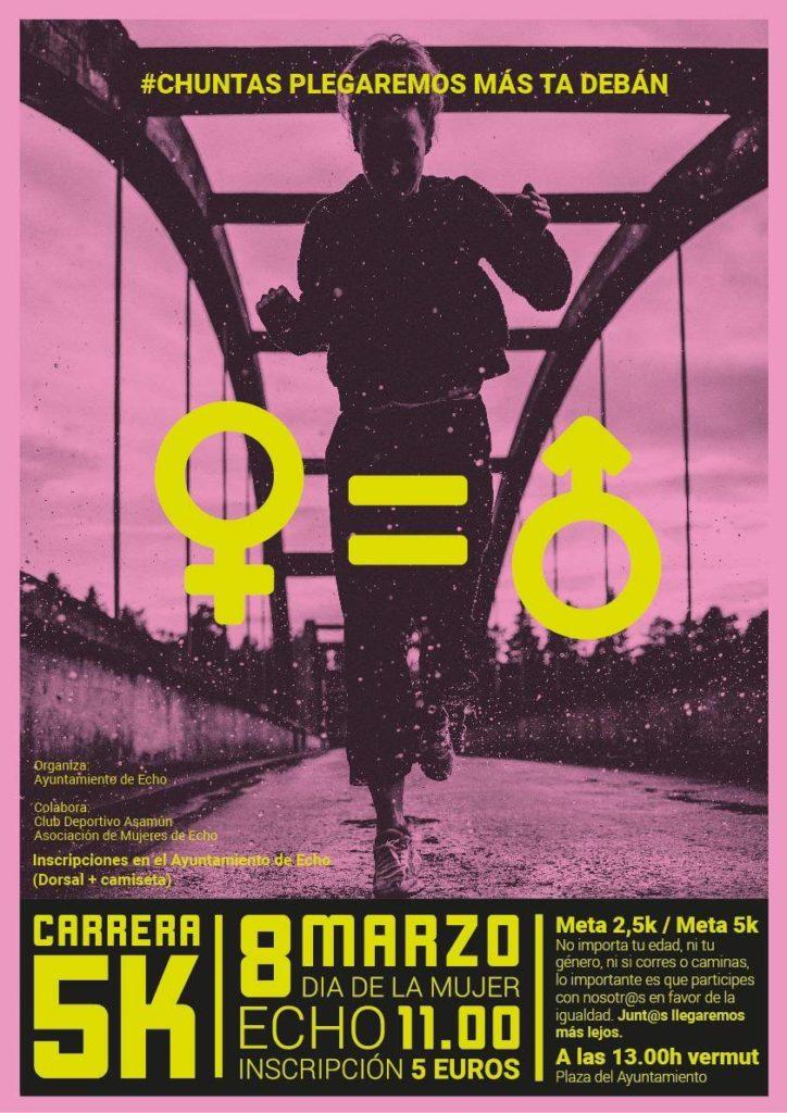 Carrera 5K DIA DE LA MUJER