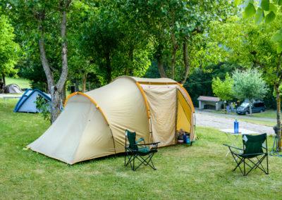 Camping Borda Bisaltico. Valle de hecho. Pirineo Aragonés
