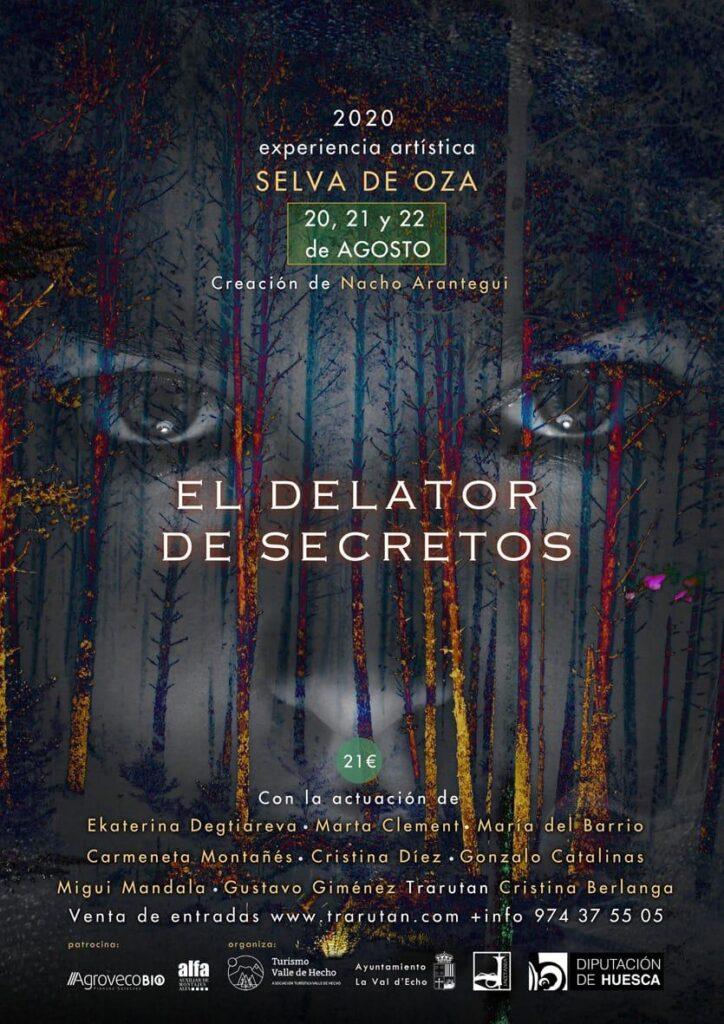 El delator de secretos. Experinecia artirstica de Nacho Arantegui en la Selva de Oza.- Valle de Hecho-