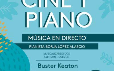 Cine y piano , en Echo el 23 de abril,  día de San Jorge