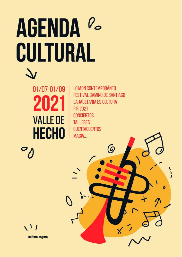Agenda cultural Verano 2021 Valle de Hecho